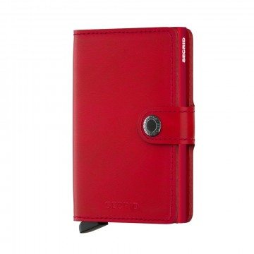 900285878 SECRID MINIWALLET  ORIGINAL RED / RED