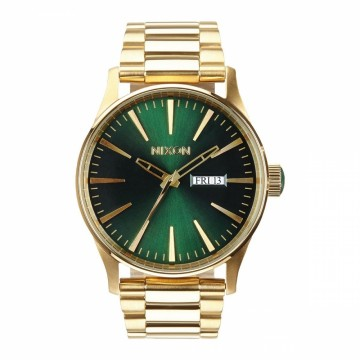 A3561919 NIXON SENTRY SS - GOLD / GREENSUNRAY - DIAMETER:42 MM