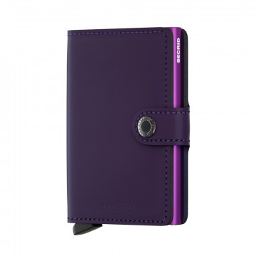 900285298 SECRID MINIWALLET MATT  PURPLE