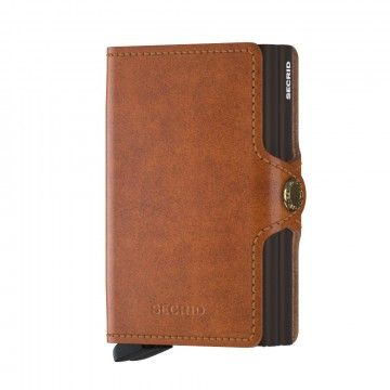 900286257 SECRID TWINWALLET  COCNAC BROWN