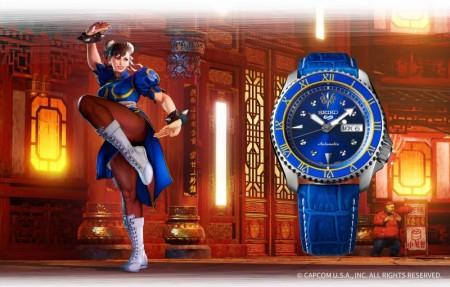 Seiko 5 - Street Fighter
