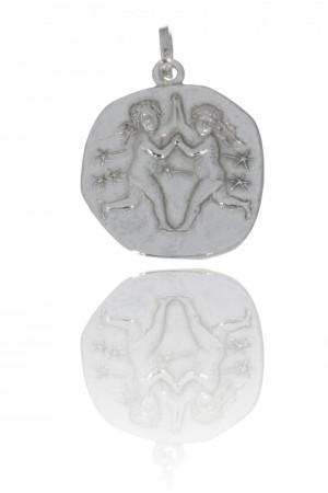 Stjernetegn i sølv til herre-utgått modell